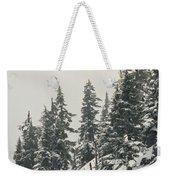Snowy Ridge Near Snoqualmie Pass Weekender Tote Bag