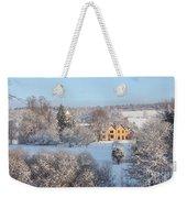 Snowy Scene In England Weekender Tote Bag