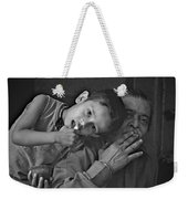 So Happy With Grandfather Weekender Tote Bag