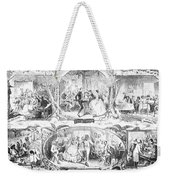 Social Activities, 1861 Weekender Tote Bag by Granger