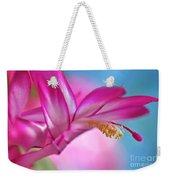Soft And Delicate Cactus Bloom Weekender Tote Bag
