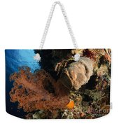 Soft Coral Seascape, Indonesia Weekender Tote Bag
