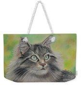 Soft Kitty Weekender Tote Bag