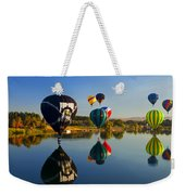 Soft Landings Weekender Tote Bag by Mike  Dawson