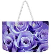 Soft Lavender Roses Weekender Tote Bag