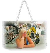 Soft N Sweet Harley Chopper  Weekender Tote Bag