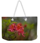 Soft Red Rhodies Weekender Tote Bag