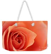 Soft Rose Petals Weekender Tote Bag