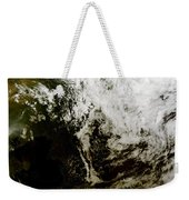 Solar Eclipse Over Southeast Asia Weekender Tote Bag by Stocktrek Images