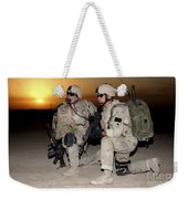 Soldiers Call In Air Support Weekender Tote Bag