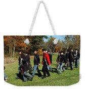 Soldiers March Color Weekender Tote Bag
