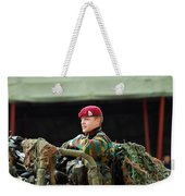Soldiers Of A Belgian Recce Or Scout Weekender Tote Bag