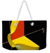 Solid Of Revolution 1 Weekender Tote Bag by Russell Kightley