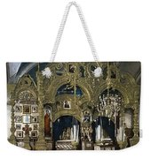 Solovetsky Monastery On The Kola Peninsula - Russa - Ca 1900 Weekender Tote Bag