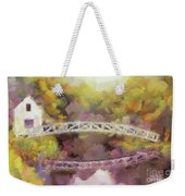 Somes Bridge - Somesville Maine Weekender Tote Bag