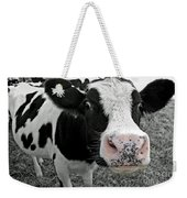 Something Kinda Moo Weekender Tote Bag