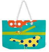 Song Birds Weekender Tote Bag