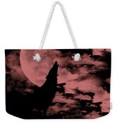 Song Of The Wolf  Weekender Tote Bag