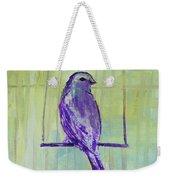 Songbird Weekender Tote Bag
