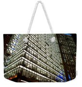 Sony Center At Night Weekender Tote Bag