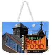 Soul Food Weekender Tote Bag