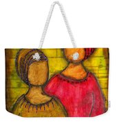 Soul Sistahs Sing Of Friendship Weekender Tote Bag