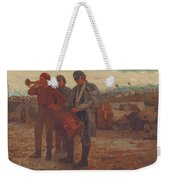 Sounding Reveille Weekender Tote Bag