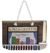 South Bronx - New York City Weekender Tote Bag