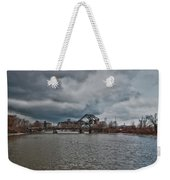 South Buffalo Rail Bridge Weekender Tote Bag