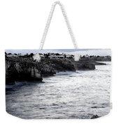 Menorca South Coast In A Stormy Mediterranean Day Weekender Tote Bag