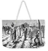 South: Cotton Planting Weekender Tote Bag by Granger