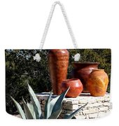 South Western Pottery And Cactus Weekender Tote Bag