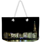 Southbank View Across The River Thames Weekender Tote Bag