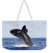 Southern Right Whale Weekender Tote Bag