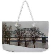 Southern Snow Weekender Tote Bag