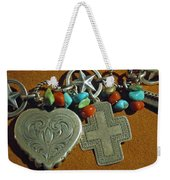 Southwest Style Jewelry With Texas Star Weekender Tote Bag