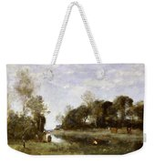 Souvenir Of The Bresle At Incheville  Weekender Tote Bag