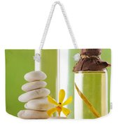 Spa Oil Bottles Weekender Tote Bag