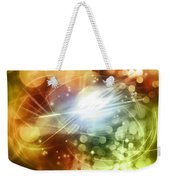 Space Background Weekender Tote Bag