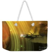 Space Battle With Two Rival Factions Weekender Tote Bag
