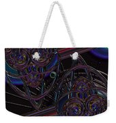 Space Glass Weekender Tote Bag