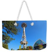 Space Needle In Seattle Washington  Weekender Tote Bag