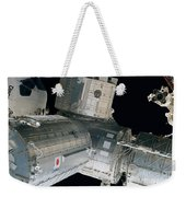 Space Shuttle Discovery And Components Weekender Tote Bag
