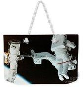 Spacewalk Weekender Tote Bag