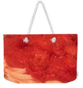 Spaghetti And Meatballs Weekender Tote Bag by Michael Merry
