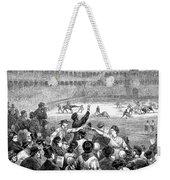 Spain: Bullfight, 1875 Weekender Tote Bag