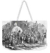 Spain: Madrid, 1848 Weekender Tote Bag by Granger