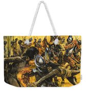 Spanish Conquistadors Weekender Tote Bag