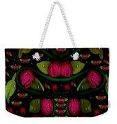 Spanish Flamenco Roses In Fantasy Style Weekender Tote Bag