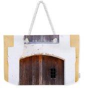Spanish Fort Door Castillo San Felipe Del Morro San Juan Puerto Rico Prints Weekender Tote Bag